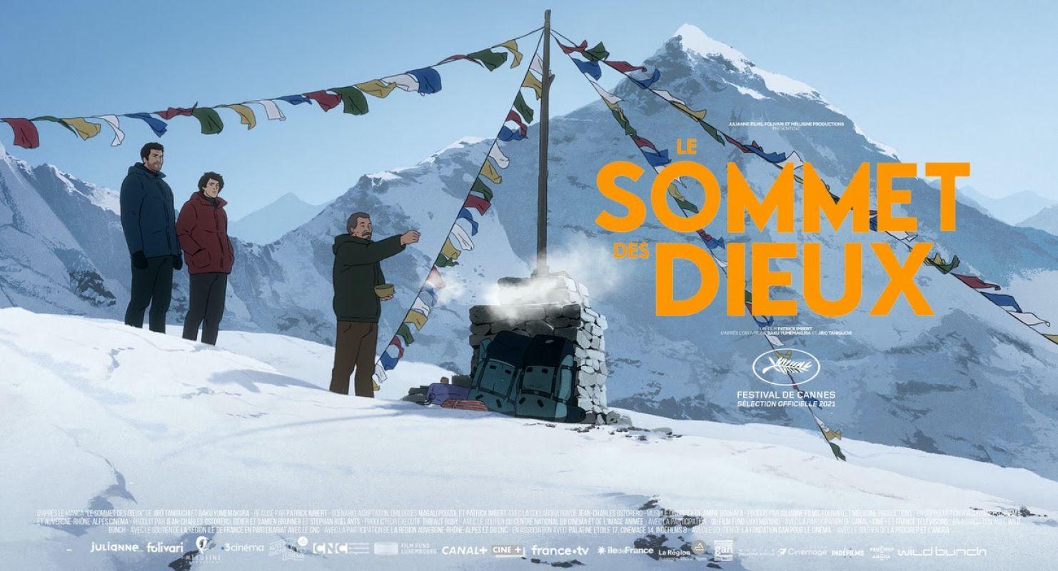 Le sommet des dieux au cinéma le 29 septembre et à Cannes en juillet !