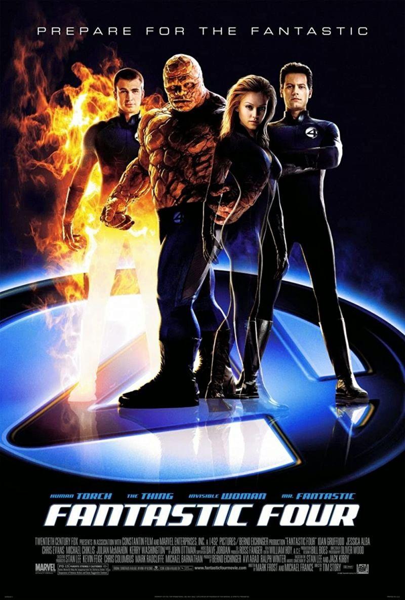 Retour vers le passé :  Les 4 Fantastiques (2005)