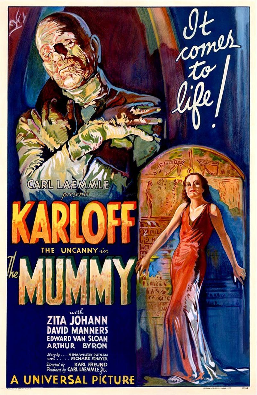 Retour vers le passé :  La Momie (1932)