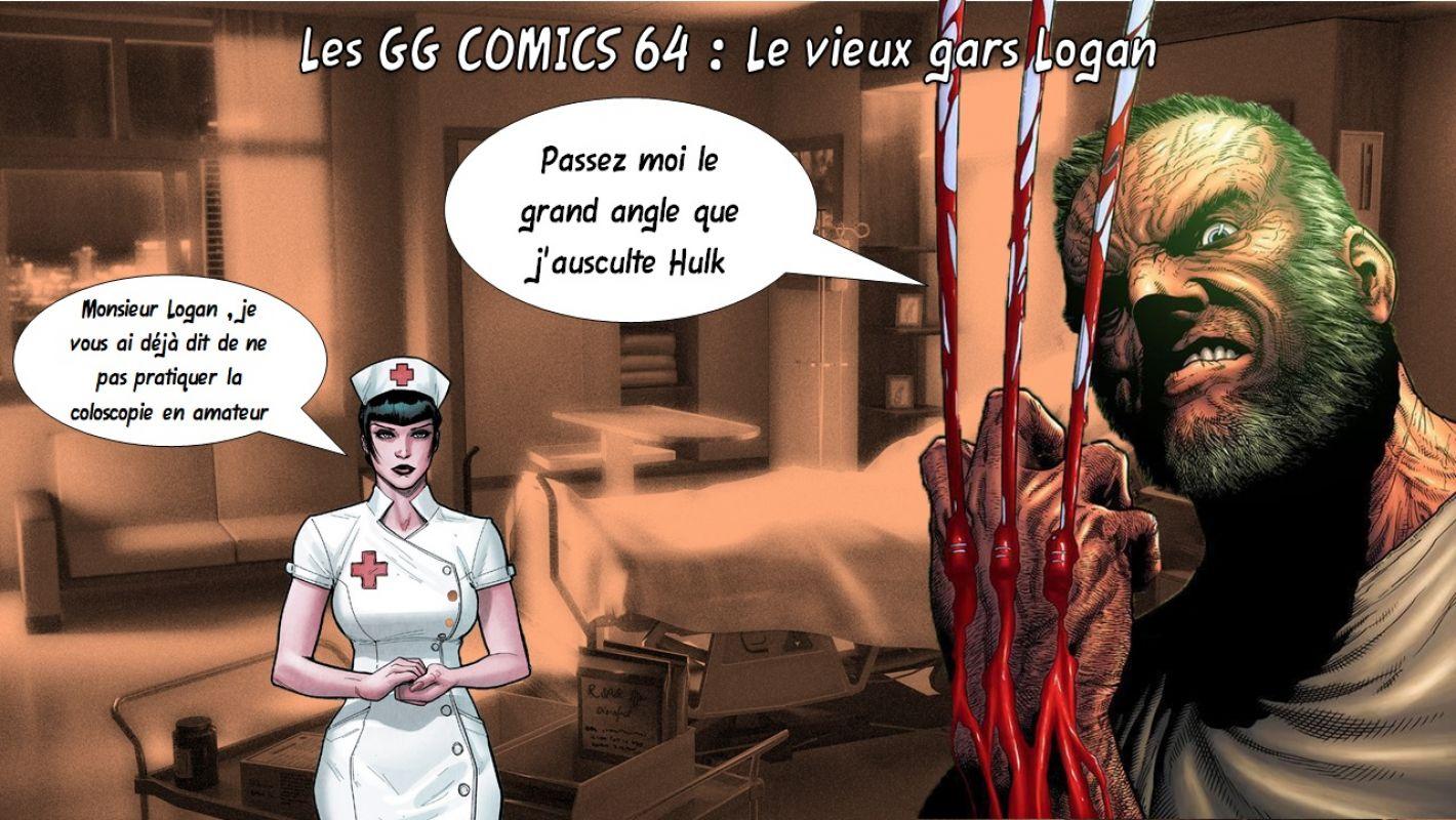 Les GG comics 64 : Le vieux gars Logan