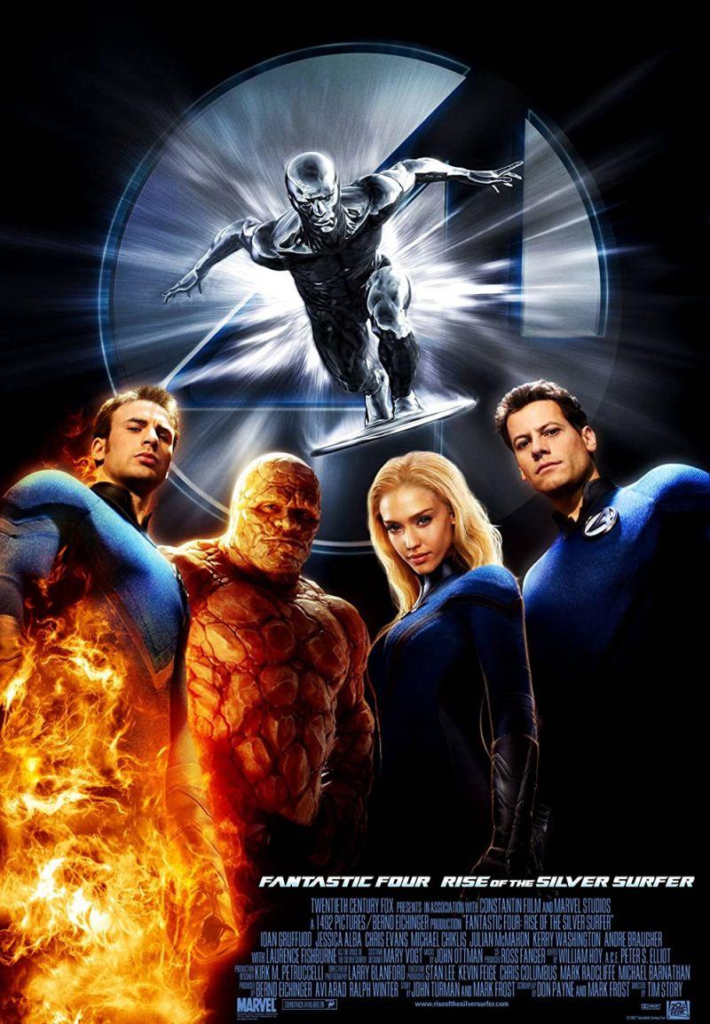 Retour vers le passé :  Les 4 Fantastiques et le Surfer d'argent (2007)