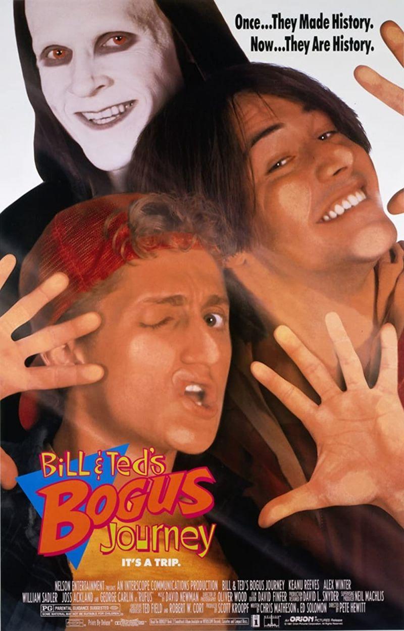 Retour vers le passé :  Les folles aventures de Bill & Ted (1991)