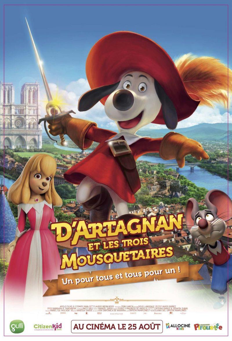 Concours d'Artagnan et les trois mousquetaires !