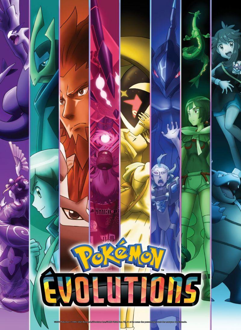 Découvrez Pokémon Evolutions, une mini-série pour les 25 ans de la franchise