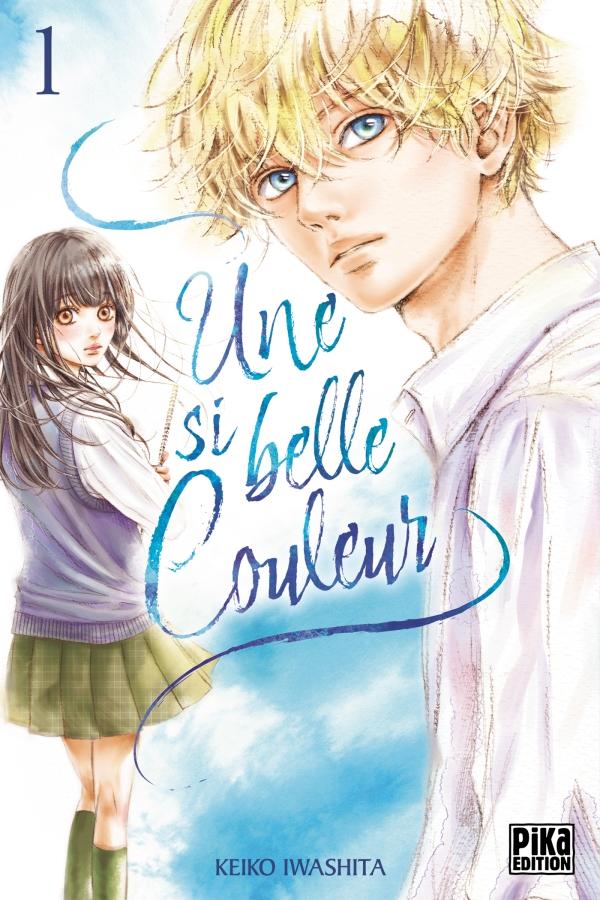 Une si belle couleur, nouveau manga shojo chez Pika