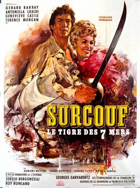 Retour vers le passé :  Surcouf, le tigre des sept mers (1966)