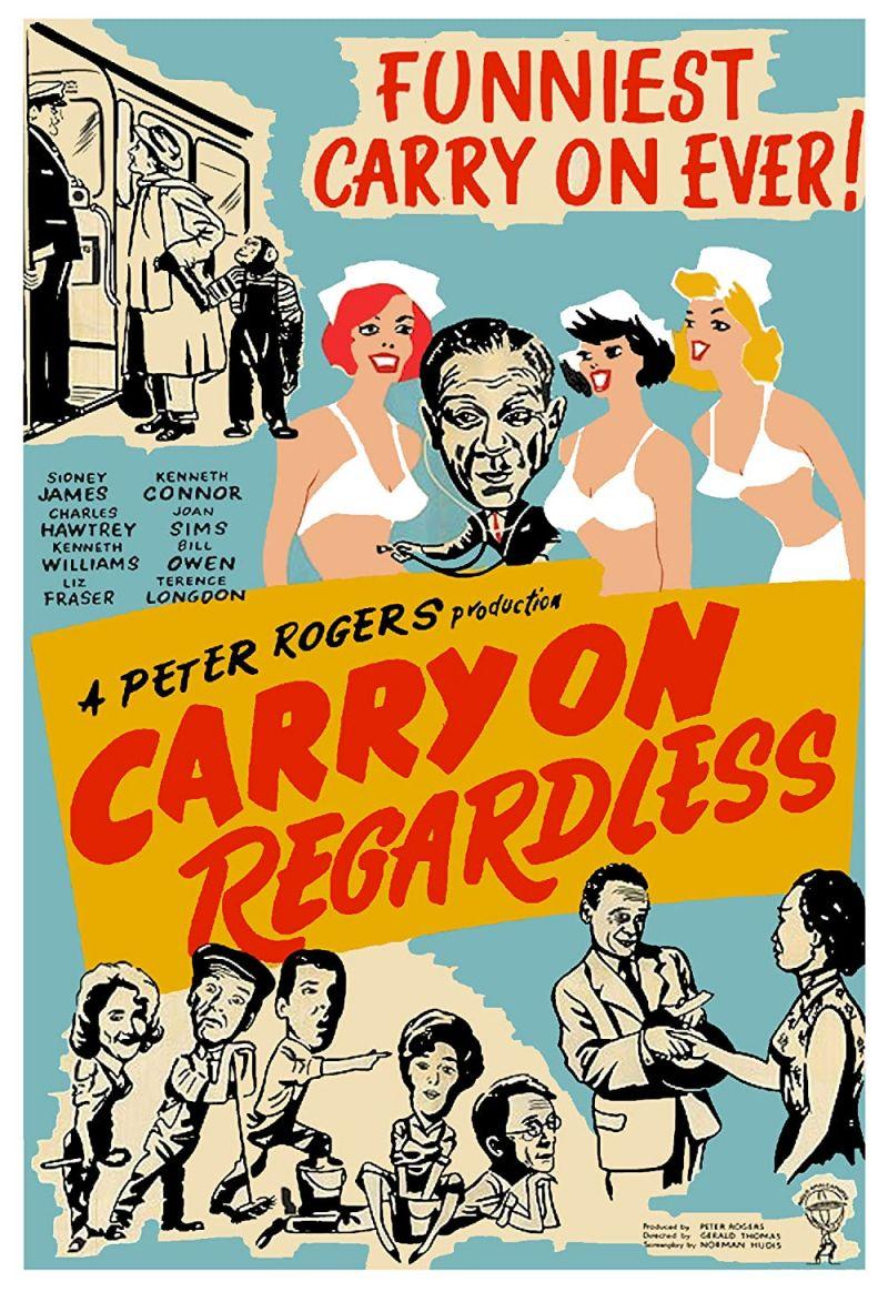 Retour vers le passé :  Carry on regardless (1961)