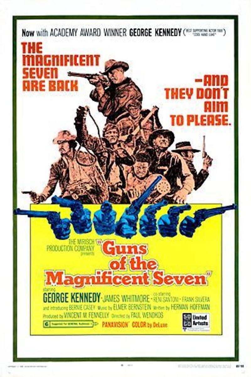 Retour vers le passé :  Les Colts des Sept Mercenaires (1969)
