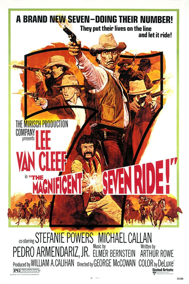 Retour vers le passé :  La Chevauchée des Sept Mercenaires (1972)