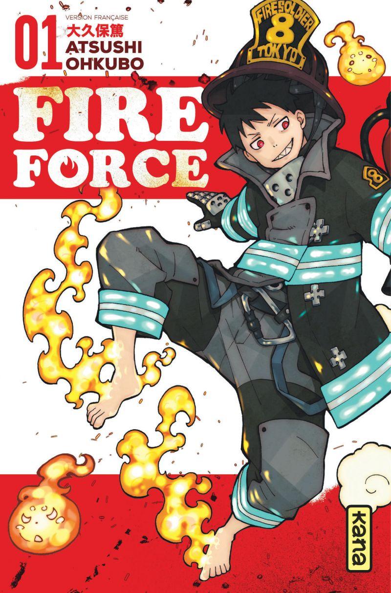 Le rythme de sortie de Fire Force accélère dès 2022!