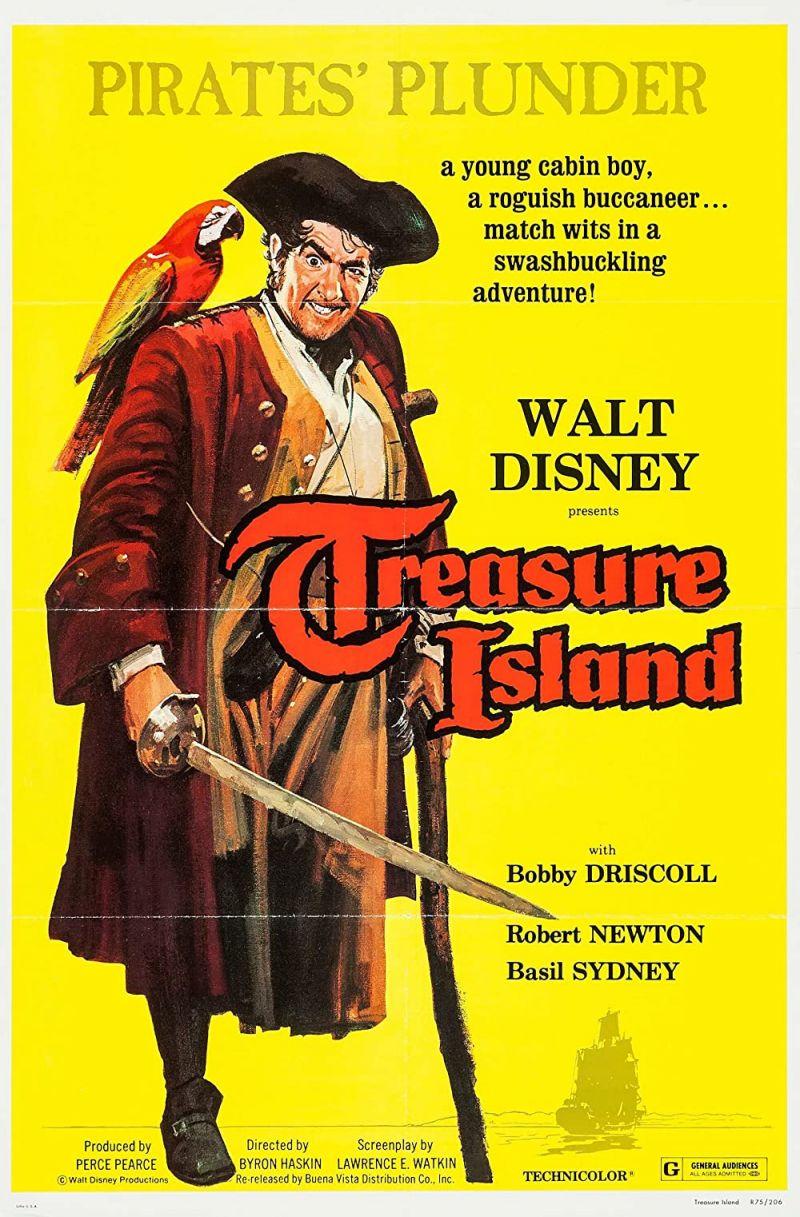 Retour vers le passé :  L'Île au Trésor (1950)