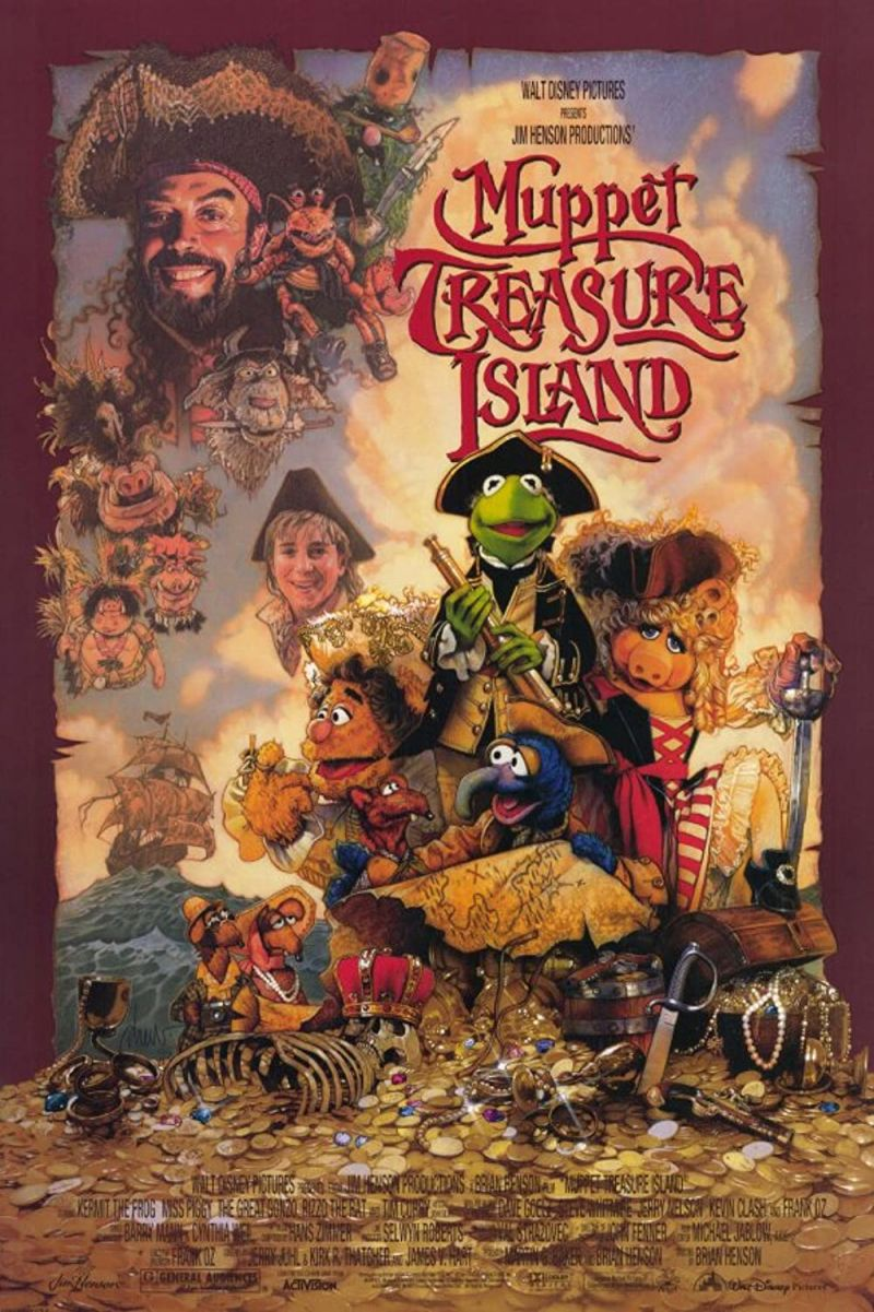 Retour vers le passé :  L'Île au Trésor des Muppets (1996)