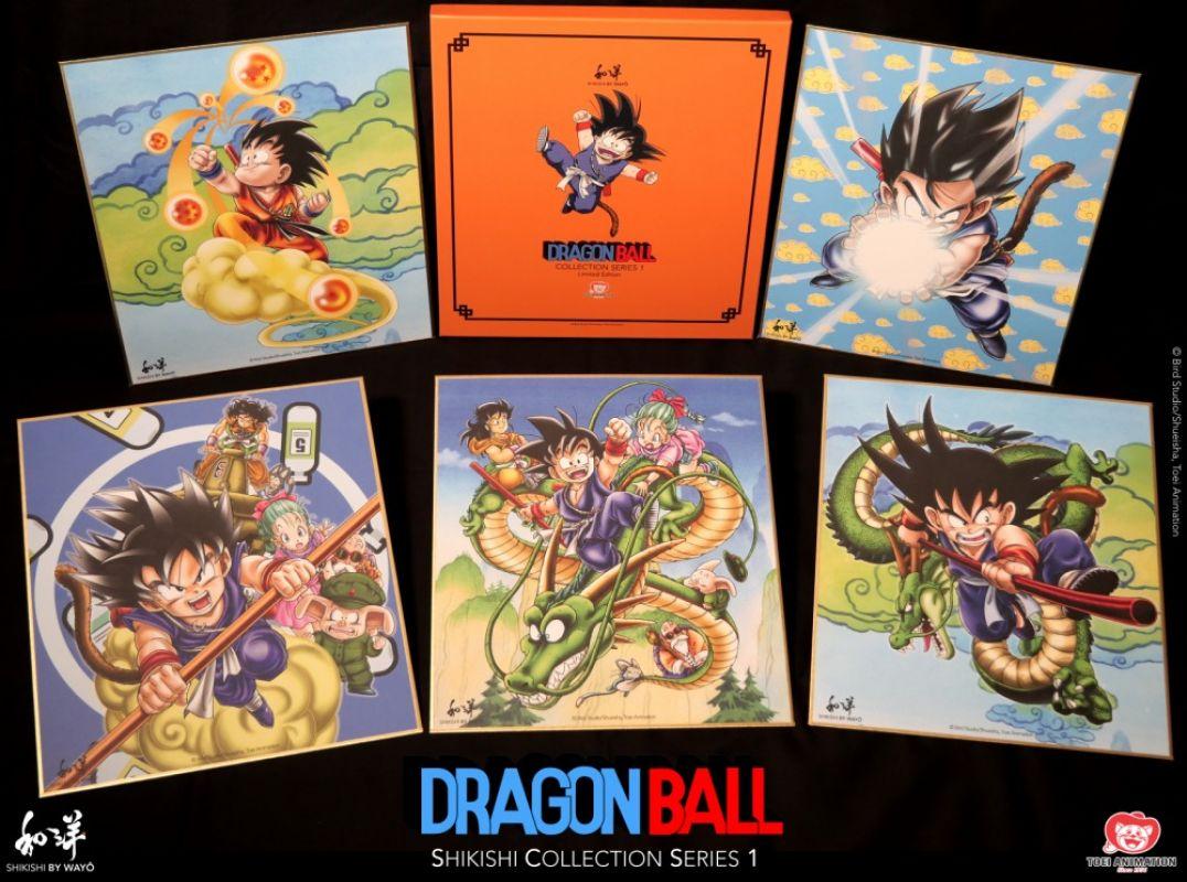 Dix illustrations collector Dragon Ball arrivent en Automne 2021 !