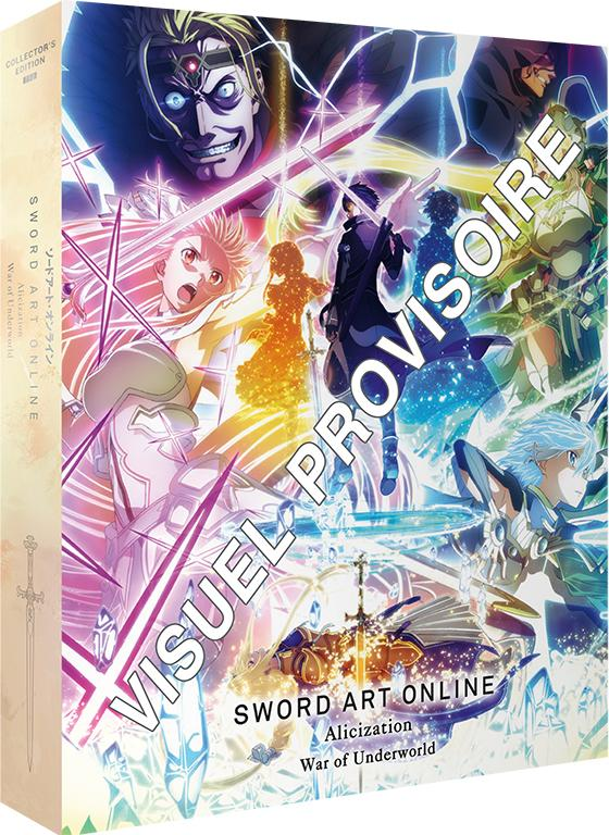 Sword Art Online: Alicization - War of Underworld arrive en édition collector Blu-Ray et DVD