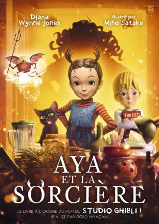Aya et la Sorcière, roman ayant inspiré le dernier film des studios Ghibli est en France !